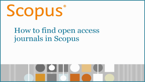 جستجوی مجلات با دسترسی آزاد در اسکوپوس