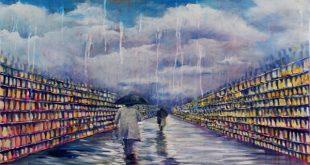 کتابخانههای دیوید جیستا؛ نقاش فرانسوی
