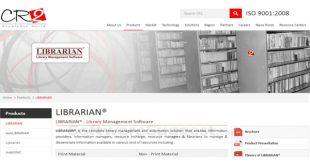نرمافزار مدیریت کتابخانهای لایبرریان
